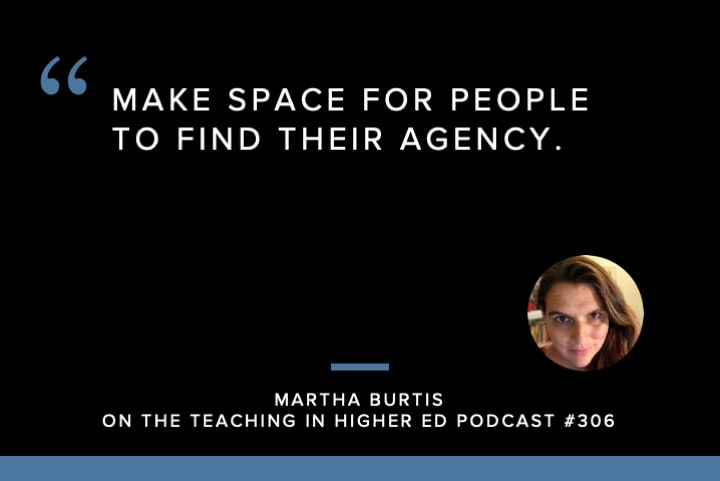 Make space for people to find their agency.