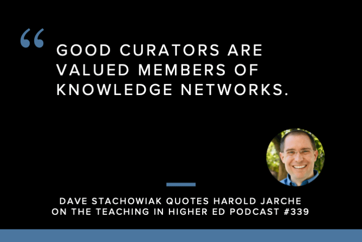 Dave Stachowiak / Harold Jarche