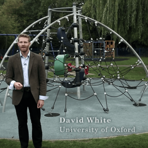 David White video