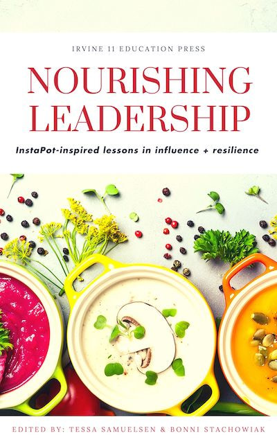 Book cover: Nourishing leadership