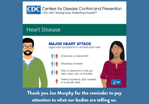 Be Aware of the Symptoms of Heart Attack