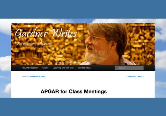 Class session Apgar