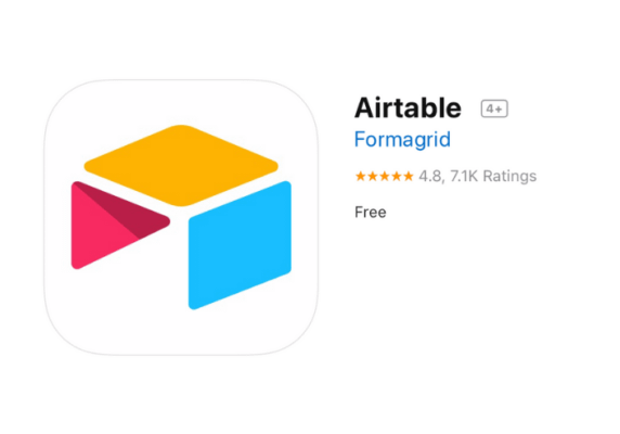 Cloud database software: Airtable*