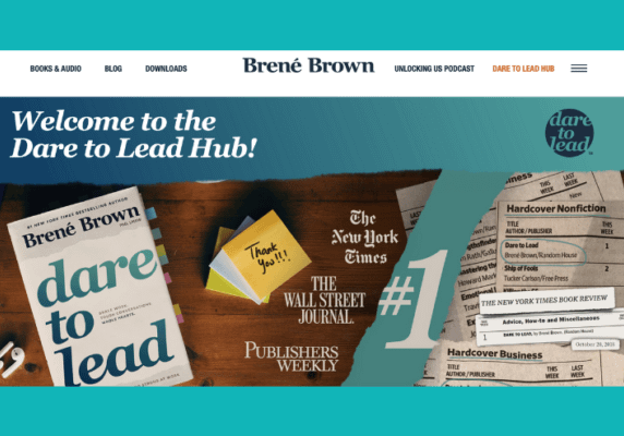 Dare to Lead, by Brené Brown