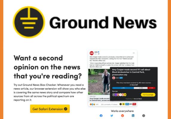 Ground News web extension(s)