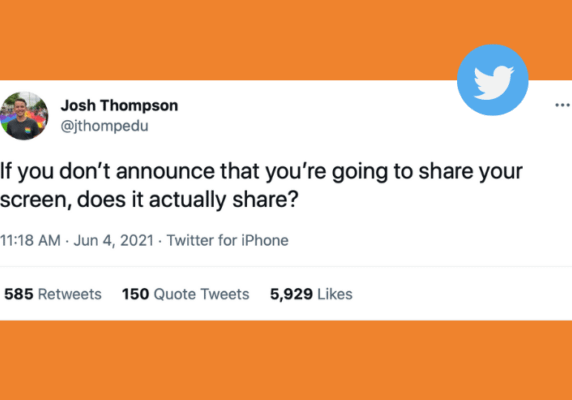 Josh Thompson's tweet