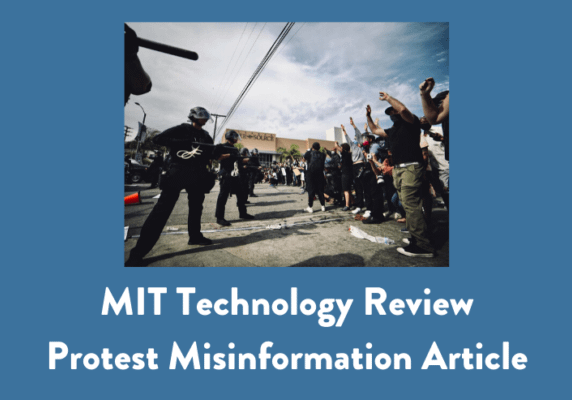 Protest Misinformation Article