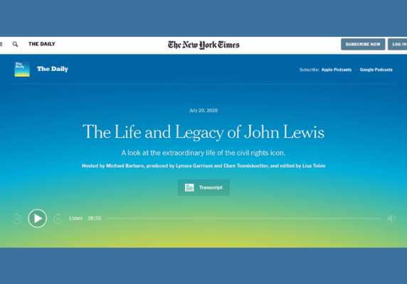 The Life and Legacy of John Lewis