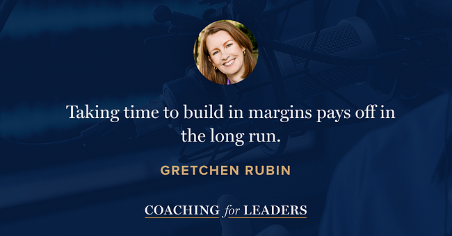 Taking time to build in margins, pays off the the long run.