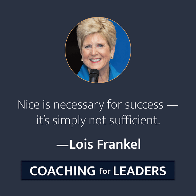 Nice is necessary for success -- it's simply not sufficient.