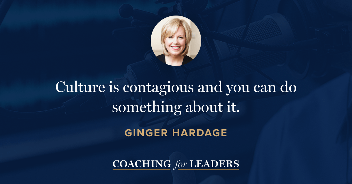 Culture is contagious and you can do something about it.