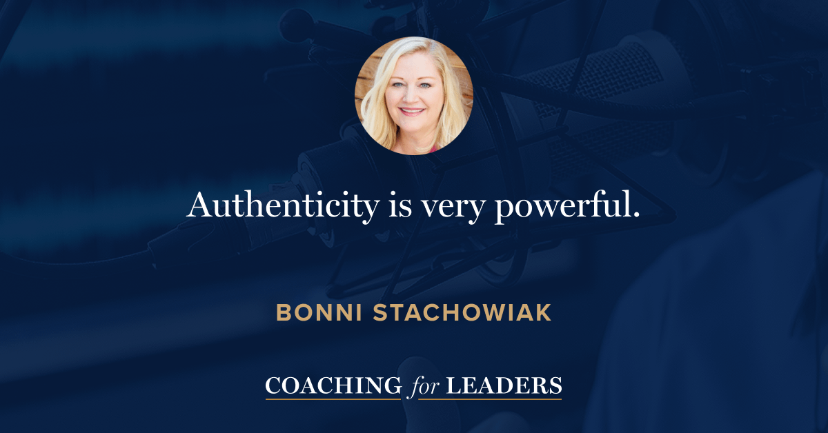 Authenticity is very powerful.