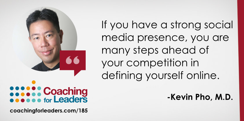 If you have a strong social media presence, you are many steps ahead of your competition in defining yourself online.