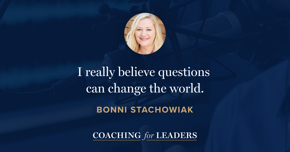 I really believe questions can change the world.