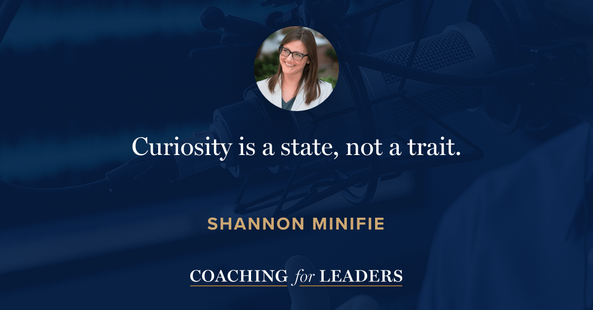Curiosity is a state, not a trait.