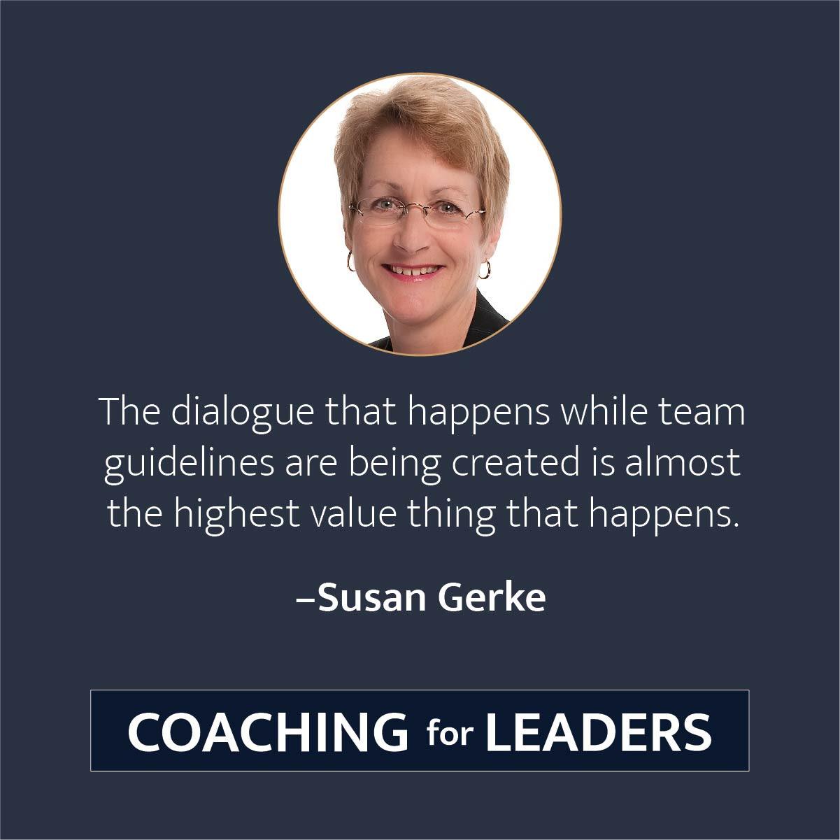 create team guidelines