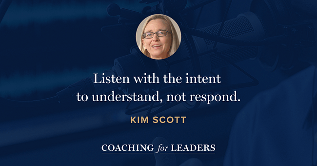 Listen with the intent 