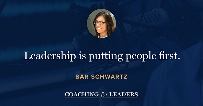 Leadership is putting people first.