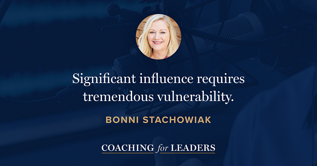 Significant influence requires tremendous vulnerability.