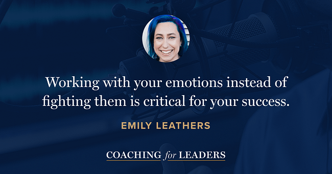 Working with your emotions instead of fighting them is critical for your success.