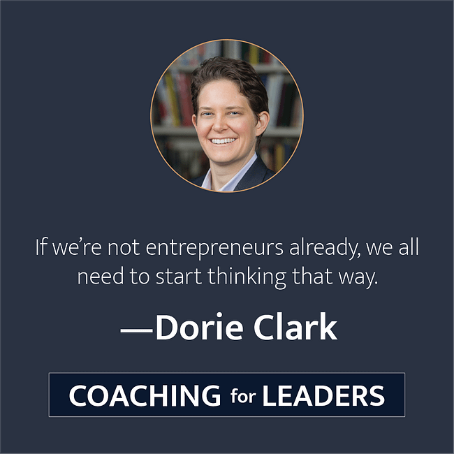 If we're not entrepreneurs already, we need to start thinking that way.