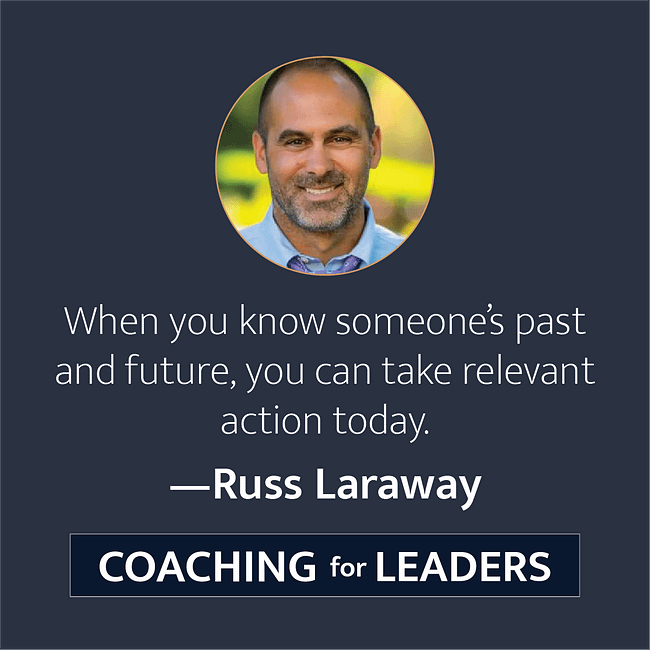 When you know someone's past and future, you can take relevant action today.